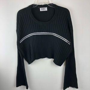 LF Seek The Label Cropped Zipper Sweater